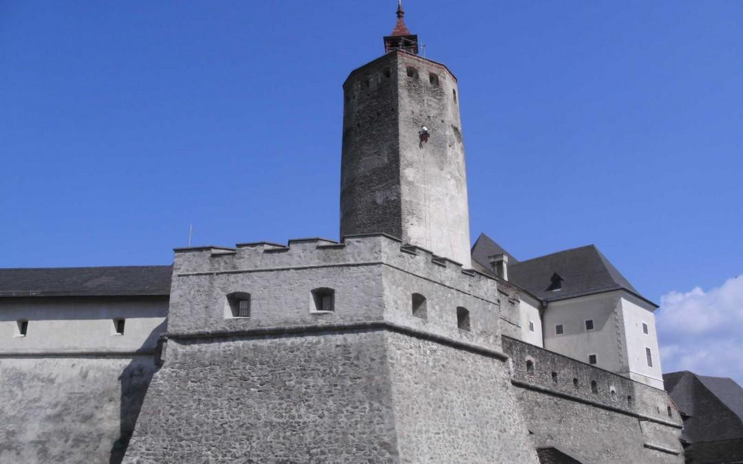 Burg Forchtenstein Mauerwerksicherung