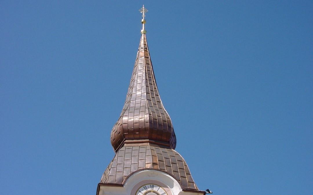 kath. Pfarrkirche Griffen Kupfereindeckung