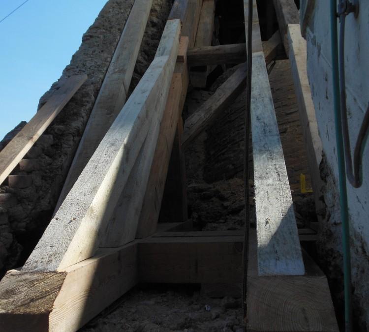 Sanierungsarbeiten in Gurnitz