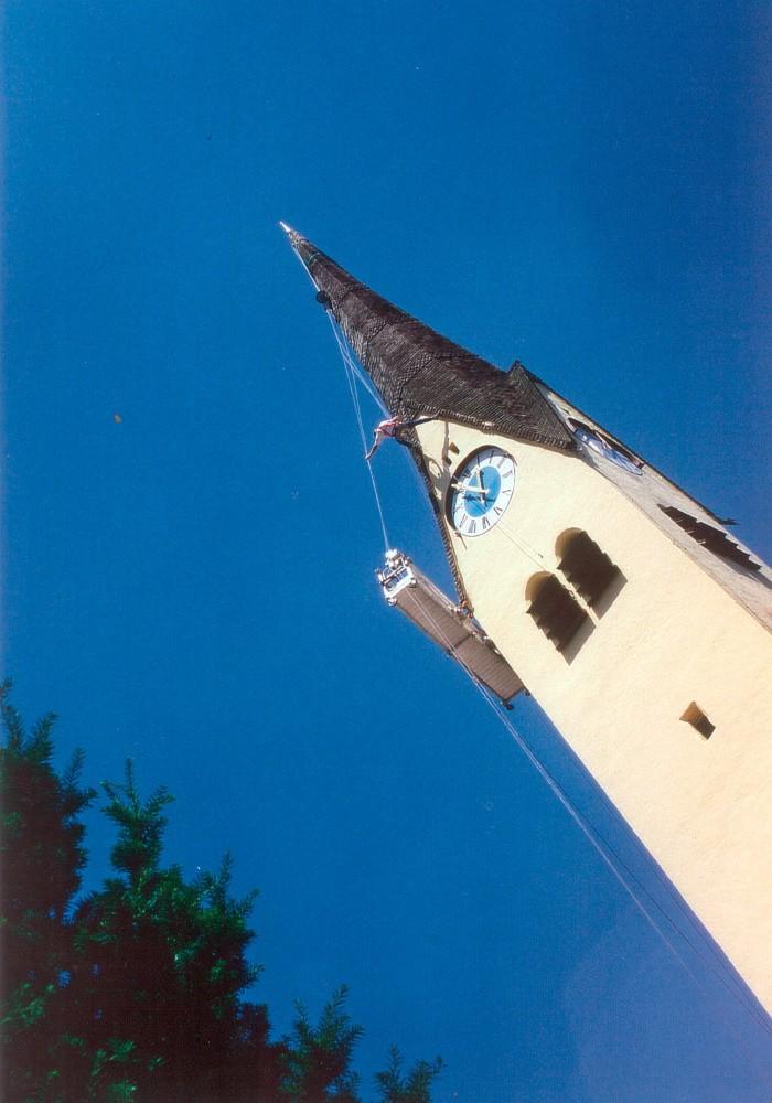 kath. Pfarrkirche Brannenburg Fassadensanierung