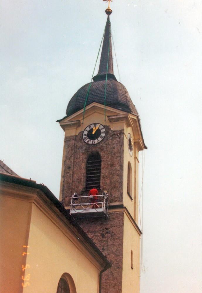 kath. Pfarrkirche Söllhuben Fassadensanierung