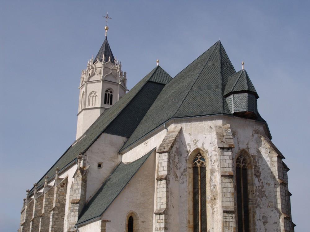 kath. Pfarrkirche Maria Waitschach Natursteineindeckung