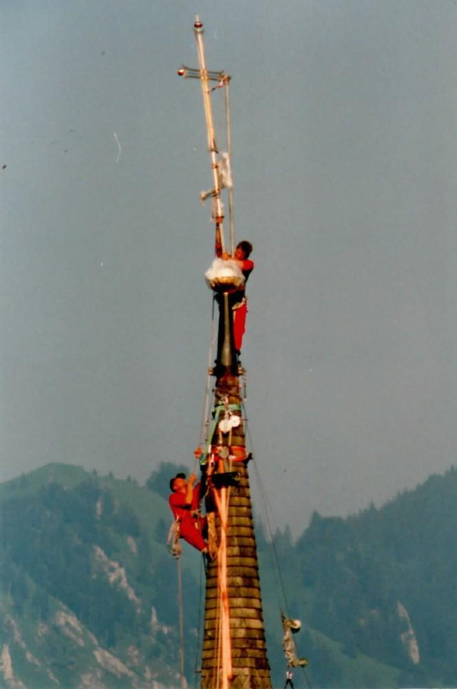 Turmschmuck montage