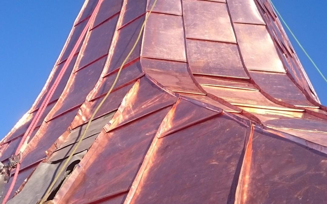 kath. Pfarrkirche Eisenkappel Kupfereindeckung