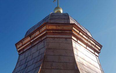 Neueindeckung Ignatiuskirche Alter Dom Linz